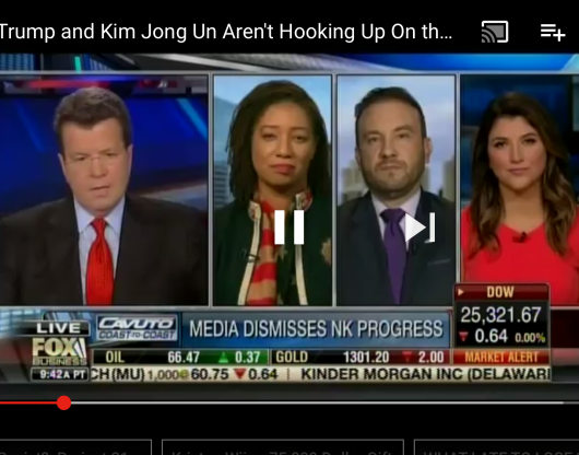 Stacy on Cavuto talking NK