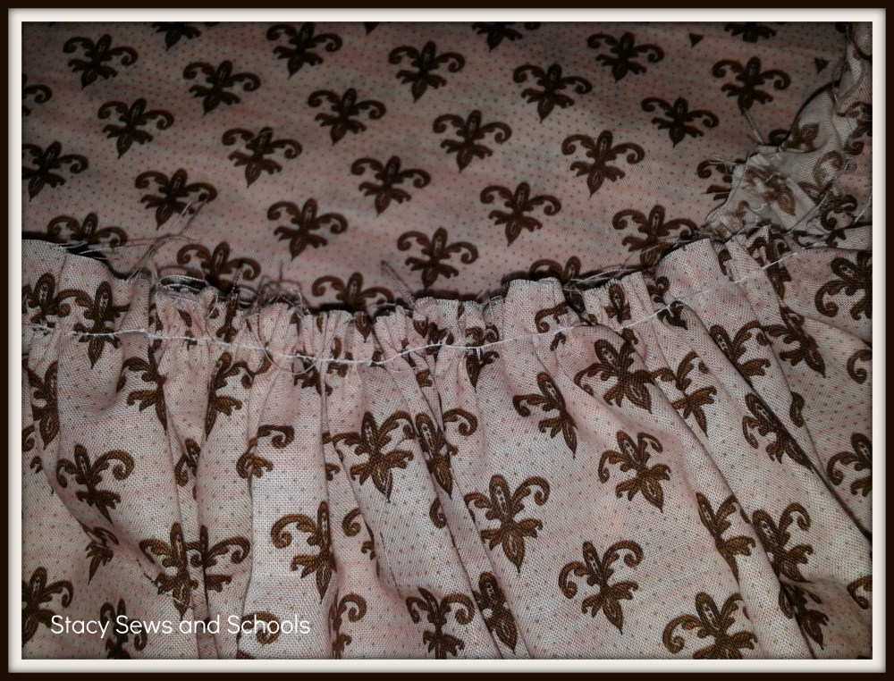 Fleur de Lis Maxi Skirt Tutorial (6/6)