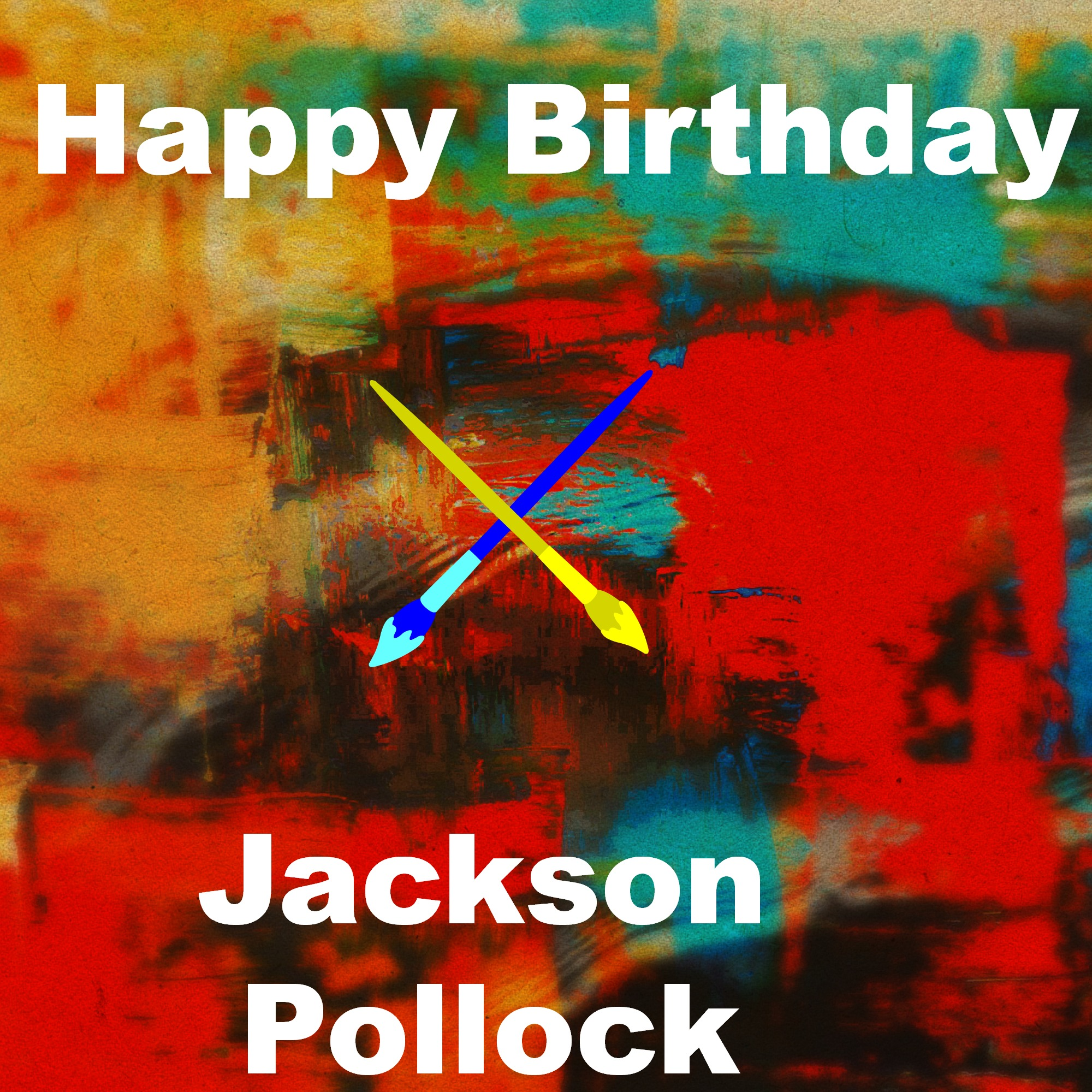 Jackson Pollock Resources For A Unit Study