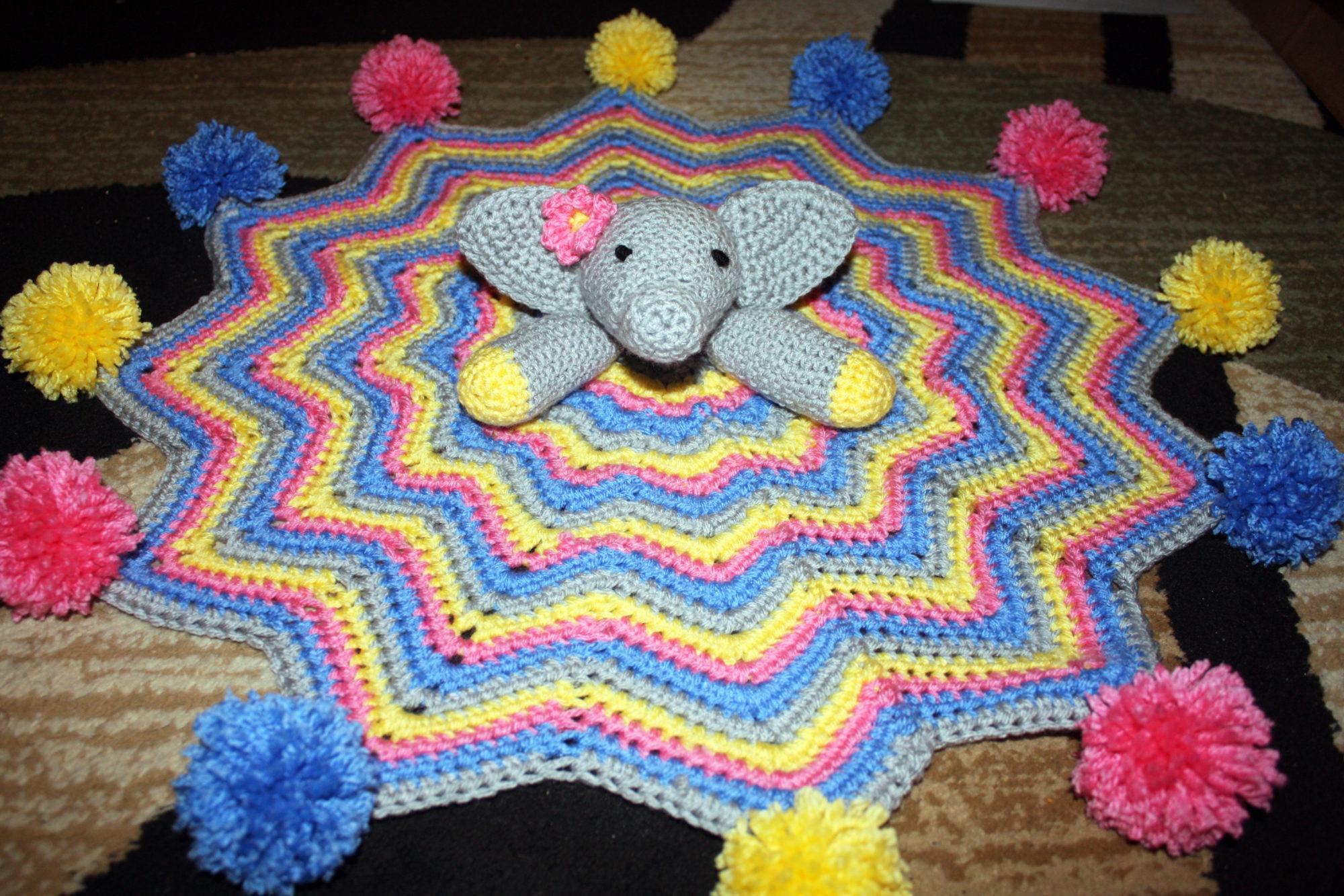 Elephant Crochet Lovey An Awesome Baby Crochet Pattern Stacys