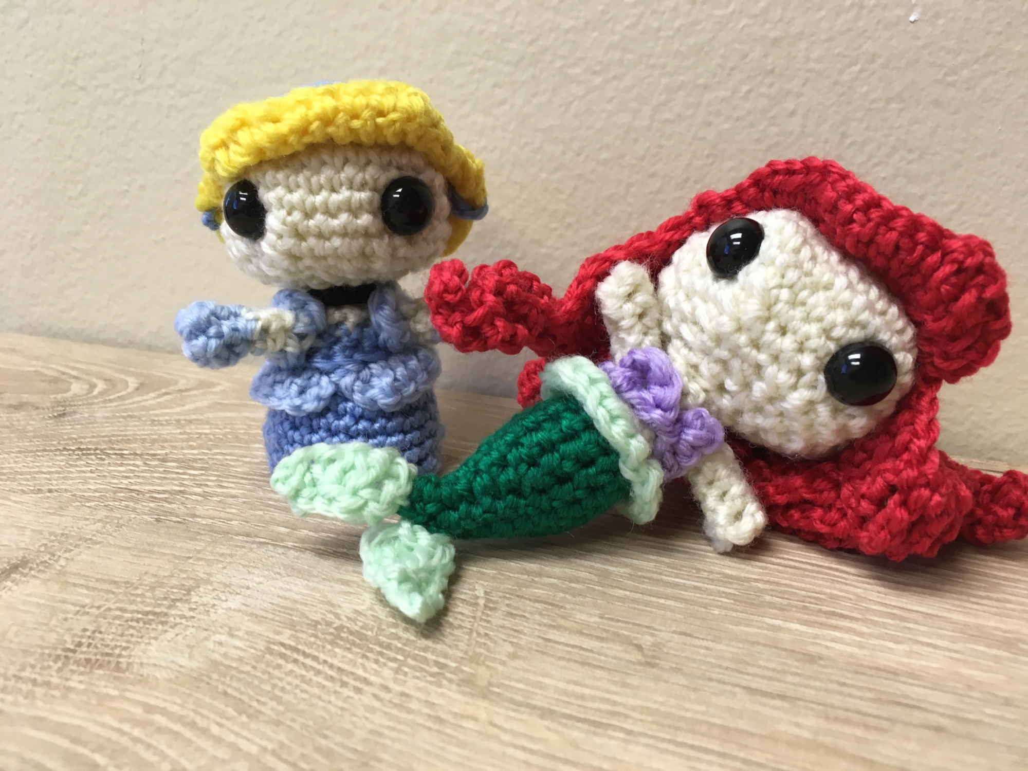 Disney Princess - Free Crochet Pattern - Salvabrani | Crochet doll ... | 1500x2000