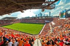 BBVA Compass Stadium. Houston, TX. Home to the Houston Dynamos (Photo: Populous)