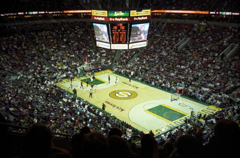 KeyArena former home to Seattle Supersonics (Photo: theonba)