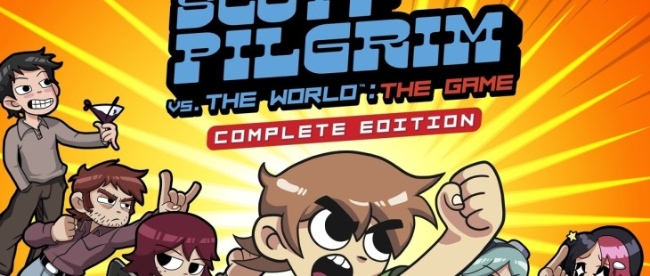Scott Pilgrim vs The World The Game Complete Edition Portada