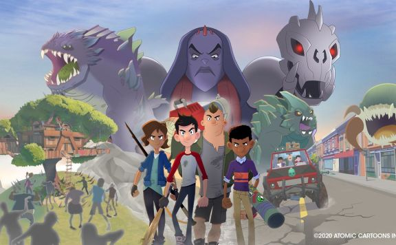 The Last Kids on Earth and the Staff of Doom Stadia