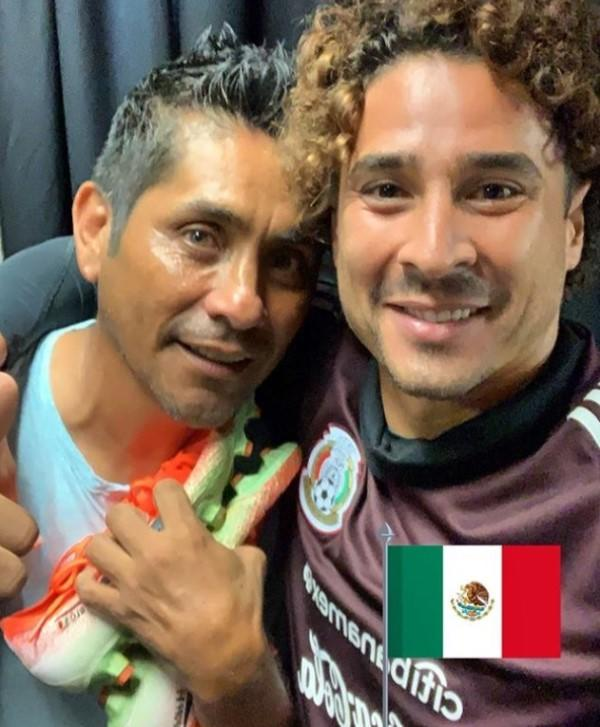 Memo Ochoa close to being the most thrashed goalkeeper in the Tri