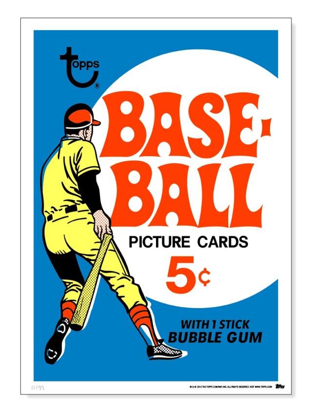1969 Topps Baseball Wax Pack Artwork
