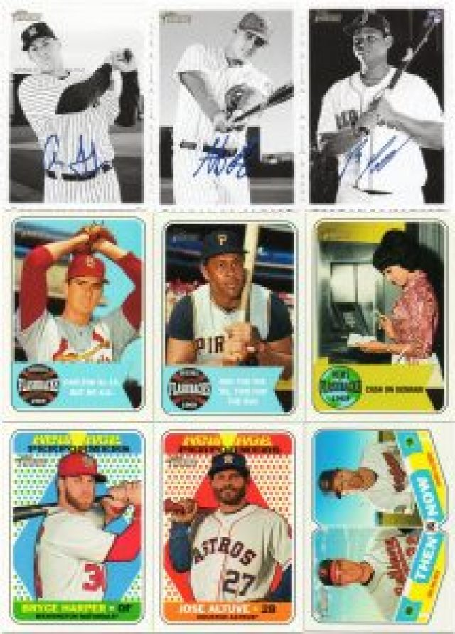 2018 Topps inserts from box 1