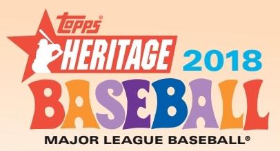 2018 Topps Heritage Baseball Logo