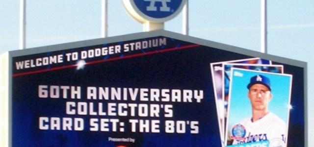 Dodger Stadium scoreboard