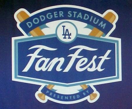 2019 Dodgers Fanfest logo