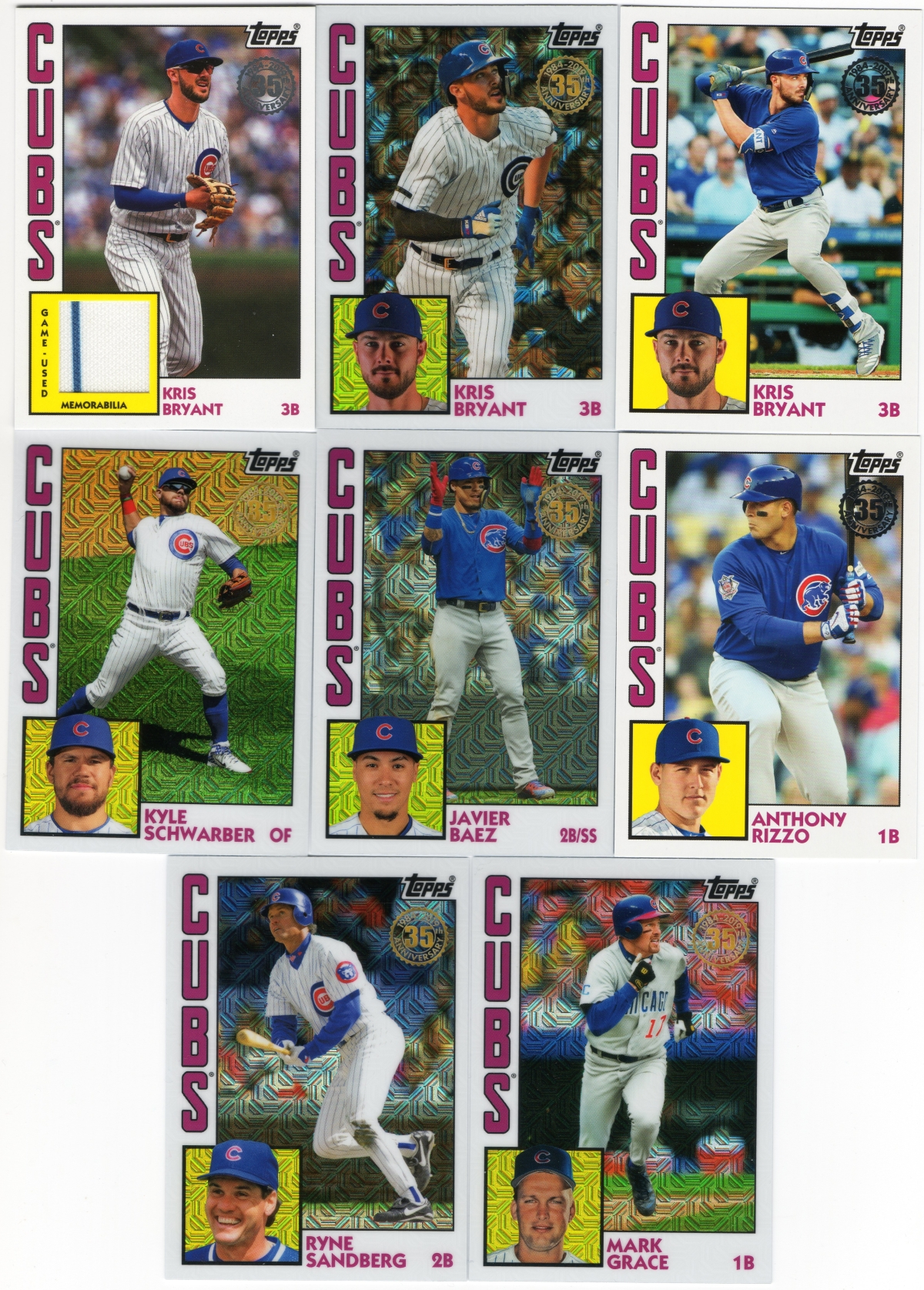 + 1984 Chrome Silver Pack 2019 Topps Series 1 COMPLETE SET *50 cards* 1-50 Soto