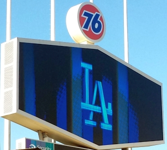 Dodger Scoreboard Aug 6 2019