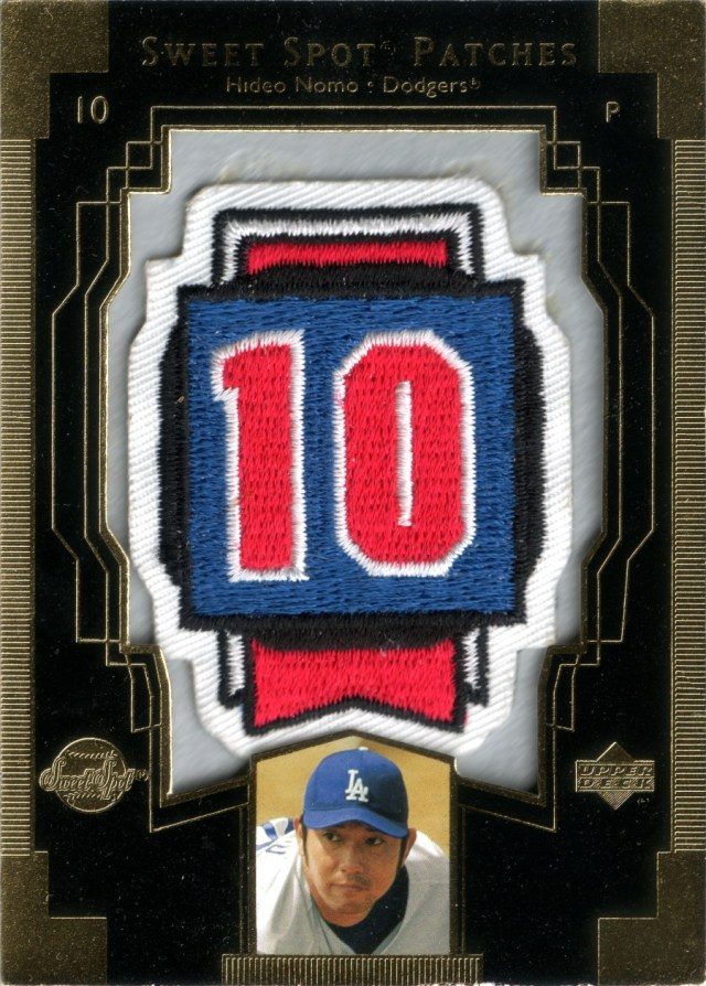 2003 UD Sweet Spot - Patches #HN1