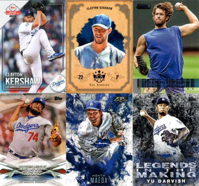 2019 Topps NBCD #14, 2019 Panini Diamond Kings -2004 DK Retro Set #DK04-CK, 2014 Stadium Club - Field Access #FA-18, 2018 Topps - MLB Awards #MLBA-4, 2016 Topps Update - Fire #F-1, 2018 Topps - Legends in the Making Black #LTM-YD