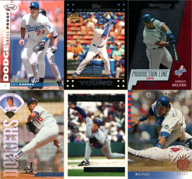 2002 Leaf - Press Proofs Red #28, 2007 Topps - Red Back #271, 2005 Donruss - Production Line OPS #PL-3 (serial #'d 983/1017, 1995 Leaf #267, 1995 Topps Traded & Rookies #40T, 1993 SP #98