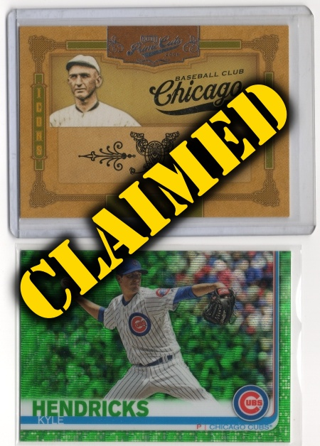 Baseball Prize Lot #6 - Claimed