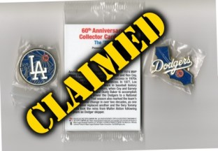 Baseball Prize Lot #10 - Claimed