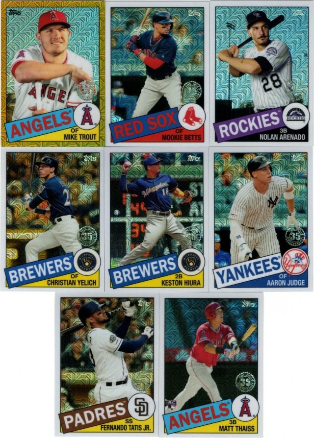 2020 Topps - Silver Pack 1985 Topps Chrome Baseball