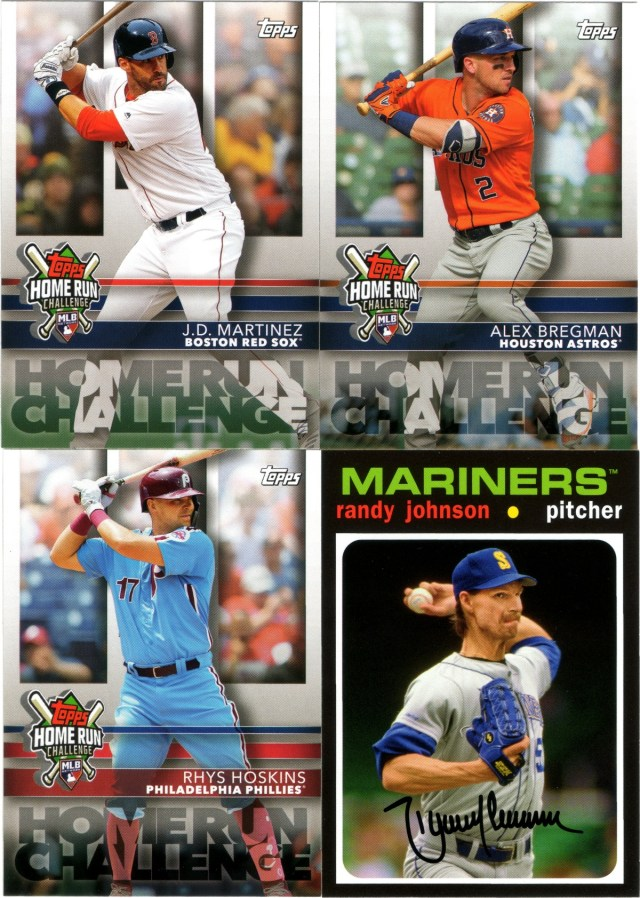 2020 Topps Home Run Challenge #HRC-3, #HRC-26, #HRC-30, 2020 Topps Choice #TC-11