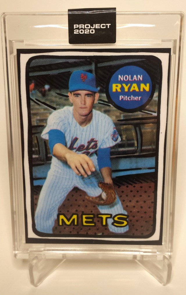Topps Project 2020 #87 Nolan Ryan