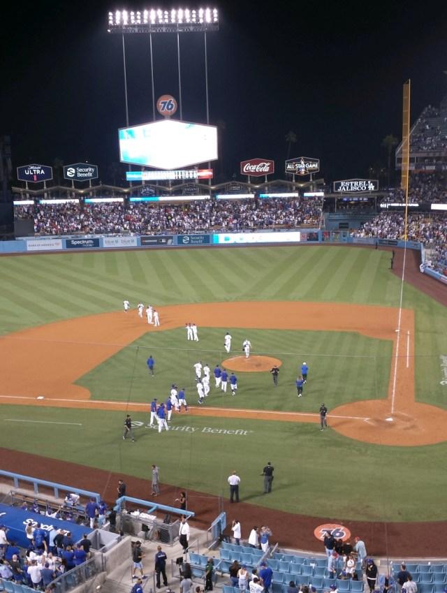 Dodgers Win!