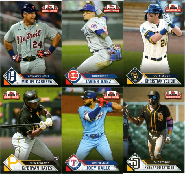 2021 Topps NBCD cards (pack 2)