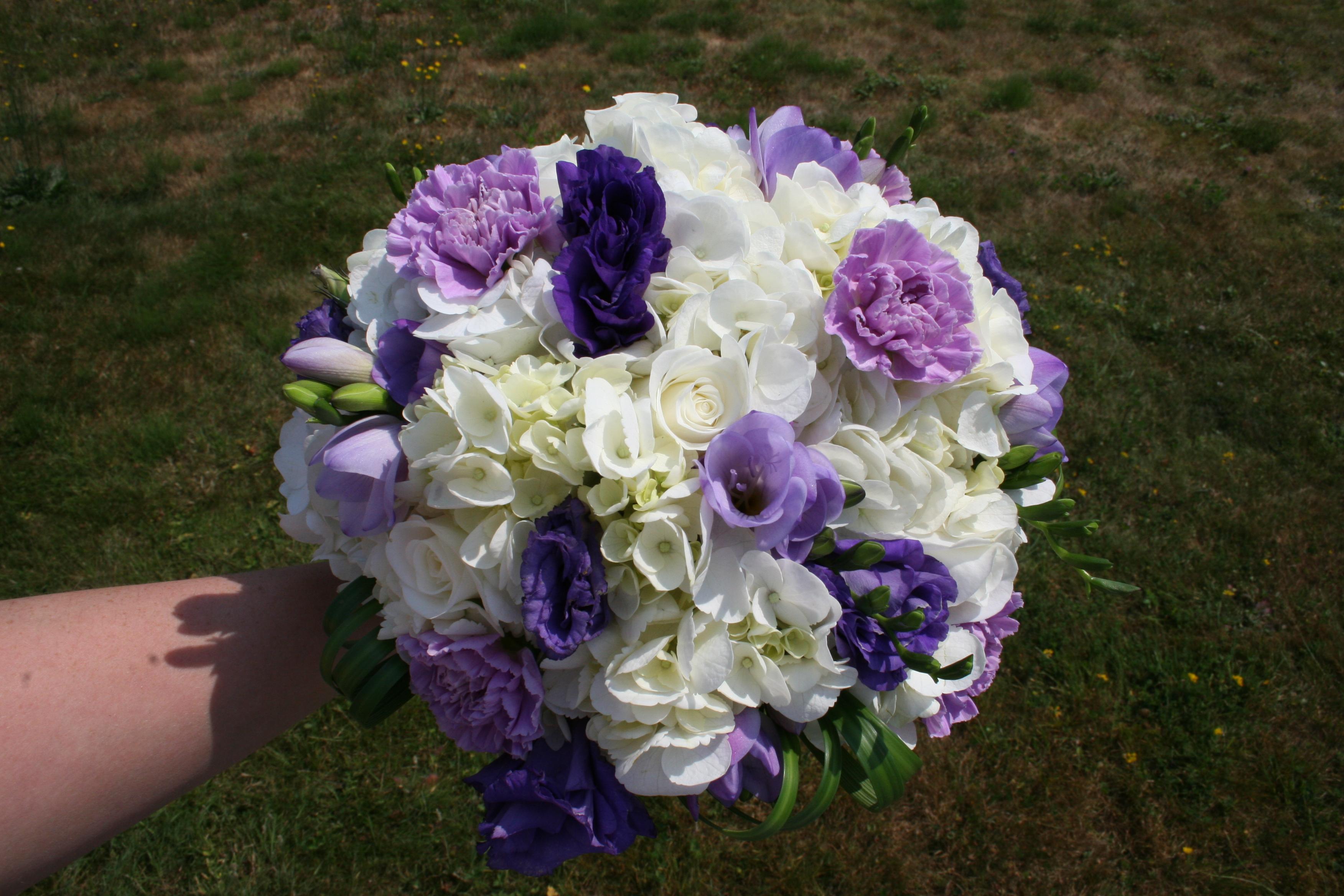 purple  Stadium Flowers