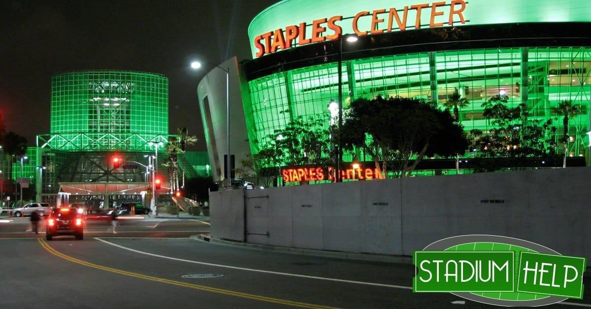 staples center arena