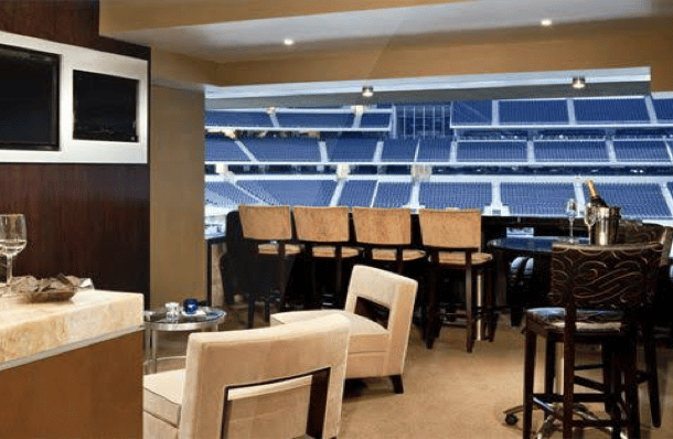yankee stadium field mvp club suite interior