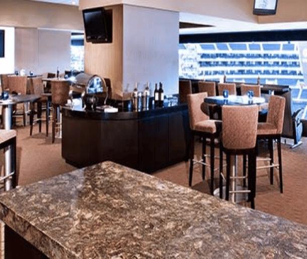 yankee stadium champions suite interior
