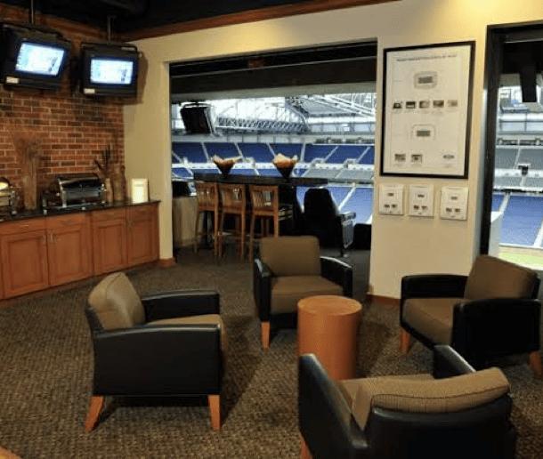 yankee stadium delta sky suite interior