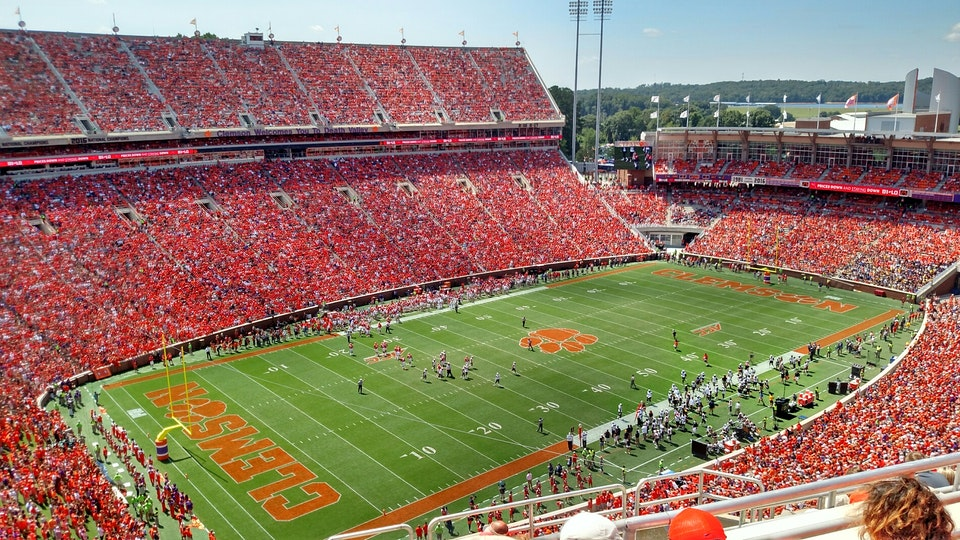 Memorial Stadium  Clemson Tigers  Stadium Journey