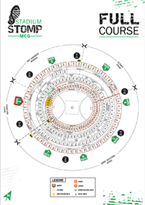 Stadium Stomp MCG Map