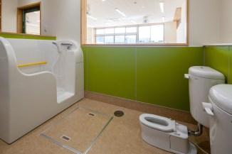 緑のトイレ