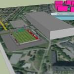 Arena Zlatan Med inspiration från Halmstad Arena har en unik arena med plats för sport, rekreation, konferens, evenemang och äventyr byggts i Rosengård. (Bild: Saman Ataeian)
