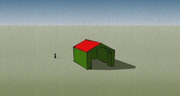 MItt första Google SketchUp-verk.