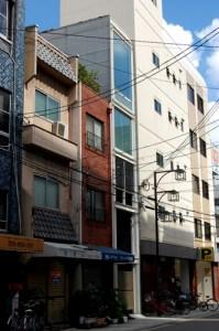 Villa i Nipponbashi (House Nipponbashi). Arkitekt Waro Kishi. (Foto: Hiromitsu Morimoto)