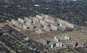 Pruitt-Igoe. Foto: United States Geological Survey.