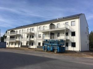 Exempel: Sjötorpshus AB bygger flerbostadshus i Vingåker efter egen beprövad modell.