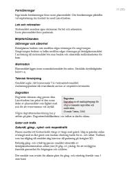 Exempel på informationsruta i planbeskrivning.