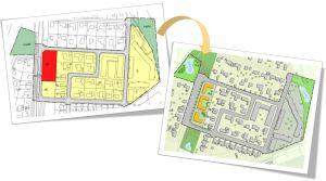 Från detaljplan i Focus Detaljplan Total till illustrationskarta i QGIS.
