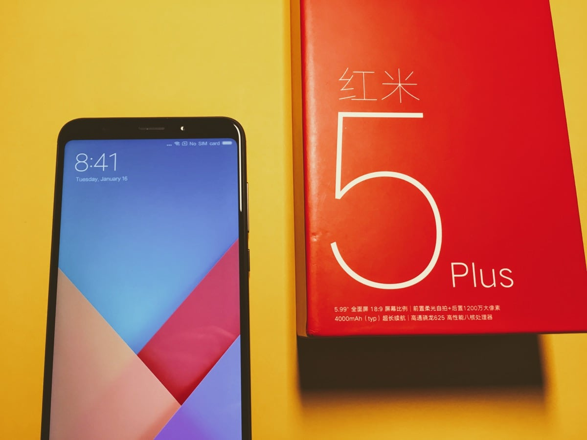 Im Test: Xiaomi Redmi 5 Plus