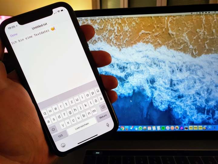 Textor ist ein kostenloser Texteditor für iPhone und iPad