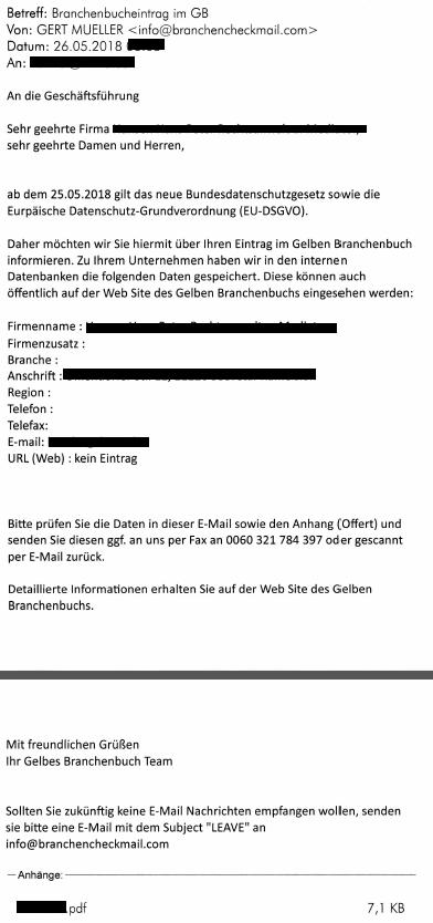 Dsgvo Polizei Warnt Vor E Mails Von Cyberkriminellen