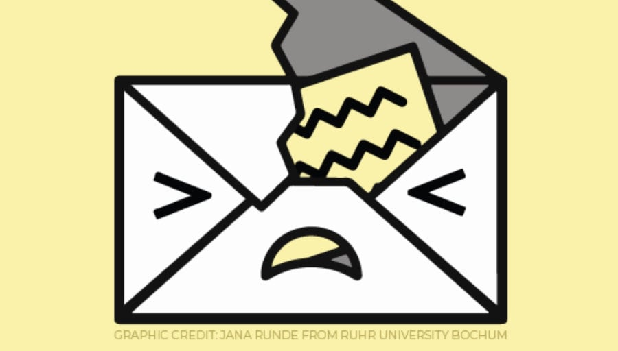 Bei verschlüsselten E-Mails ist Vorsicht geboten