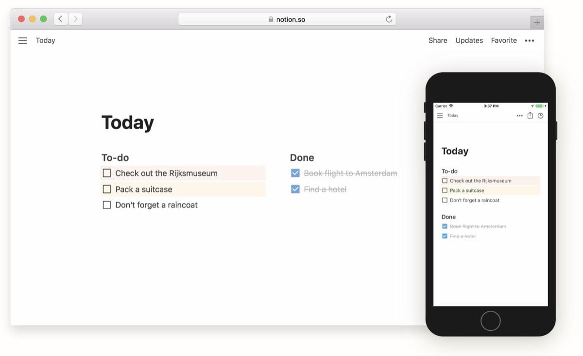Notion: Mächtige Notiz-App endlich für Android zu haben