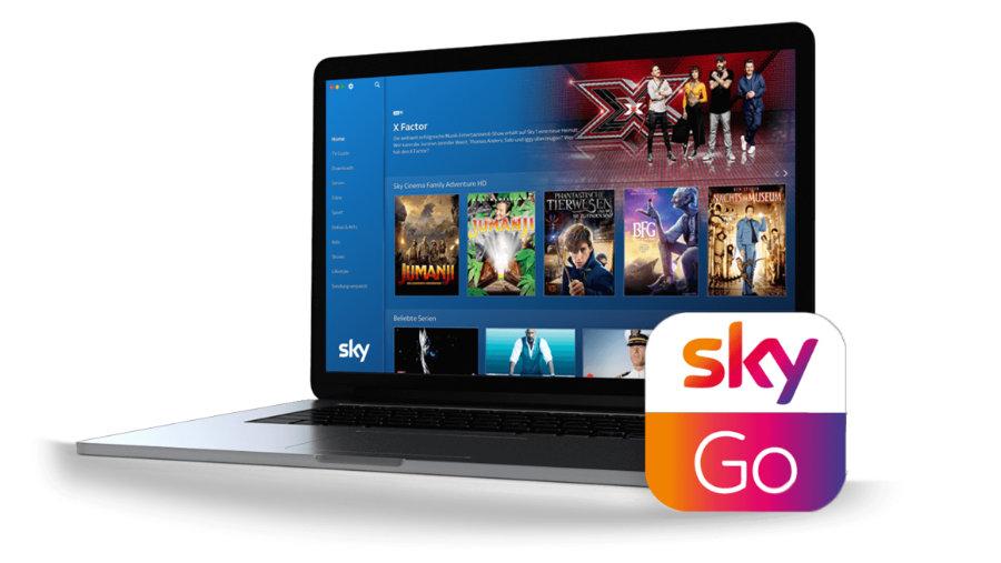 applicazione sky go per tablet samsung