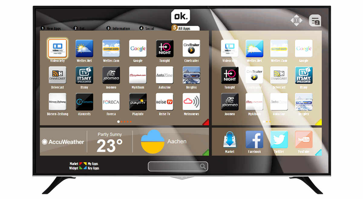 Ok Odl 65650u Tib Uhd Tv Mit 65 Zoll Für 599 Euro Bei Saturn Und