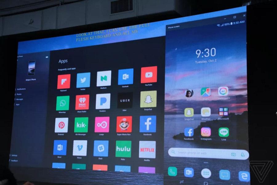 Windows 10 und Android-Apps: Your Phone erhält Mirroring-Funktion für Android-Smartphones
